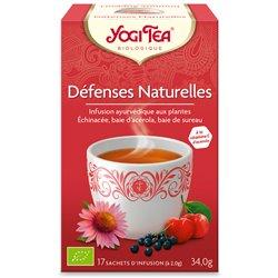 Yogi Tea Tisane défenses naturelles Infusion Ayurvédique 17 Sachets