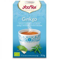 Yogi Tea Tisane ginkgo Infusion Ayurvédique 17 Sachets