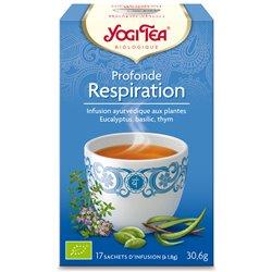 Yogi Tea Tisane profonde respiration Infusion Ayurvédique 17 infusettes
