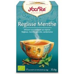 Yogi Tea Tisane réglisse menThé Infusion Ayurvédique 17 Sachets