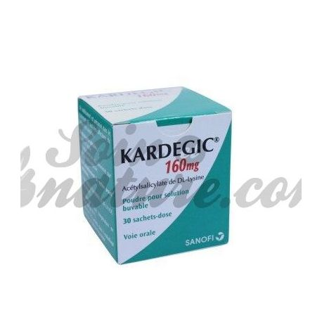 KARDEGIC 160MG Aspirine prévention AVC 30 Sachets