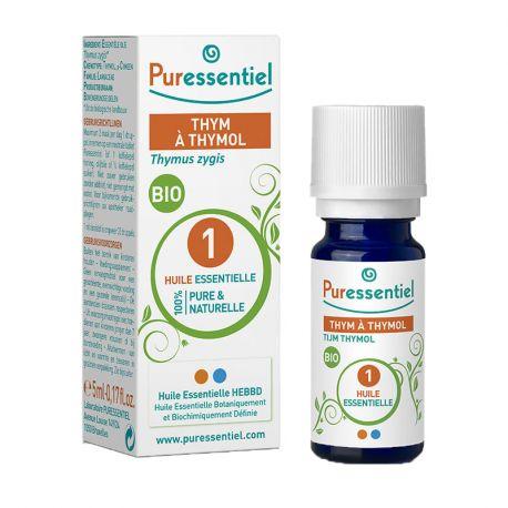PURESSENTIEL timol Tomillo 5 ml de aceite esencial