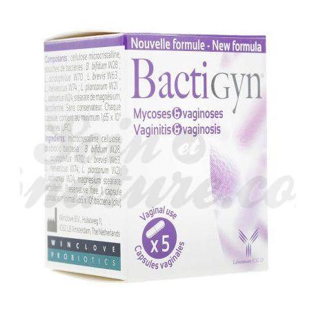 BACTIGYN cápsulas vaginales
