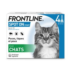FRONTLINE CHAT 4 PIPETTES