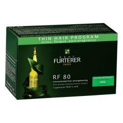 Rene Furterer RF 80 traitement anti-chute de cheveux concentré 12 ampoules