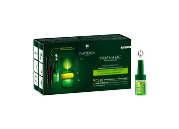 Rene Furterer Triphasic Progressive sérum antichute coffret 8 flacon 6d00f0d2c927