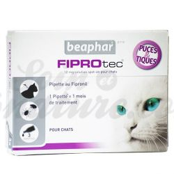 50 mg Fiprotec Spot-on Cat 3 pipetes