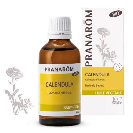 Caléndula Orgánica maceración aceite PRANAROM