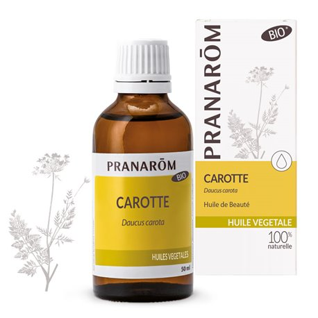 Maceração óleo de cenoura BIO Pranarom