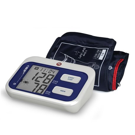 Verificación de presión arterial clásico brazalete eléctrico automático