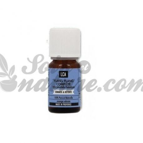 LCA Ylang ylang essential oil complete