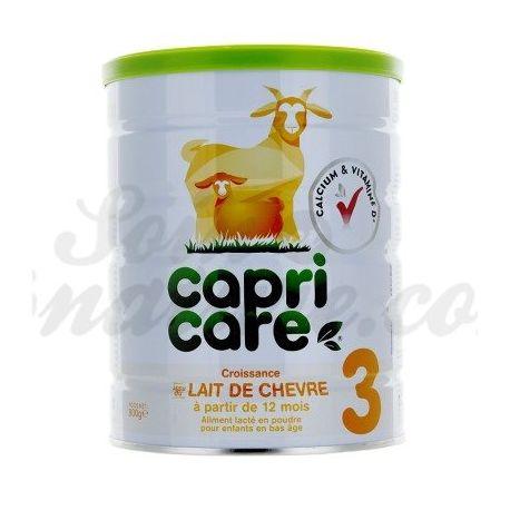 CapriCare 3 de crecimiento de cabra leche infantil tercera edad del bebé