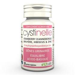 Cystinelle Gênes urinaires LT Labo 30 gélules