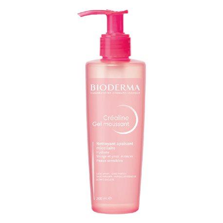 Gel schiumogeno Créaline Sensitive skin Bioderma 200ml