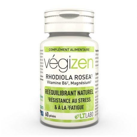 VEGIZEN Rhodiola Rosea Vitamine B6 Magnésium gélules