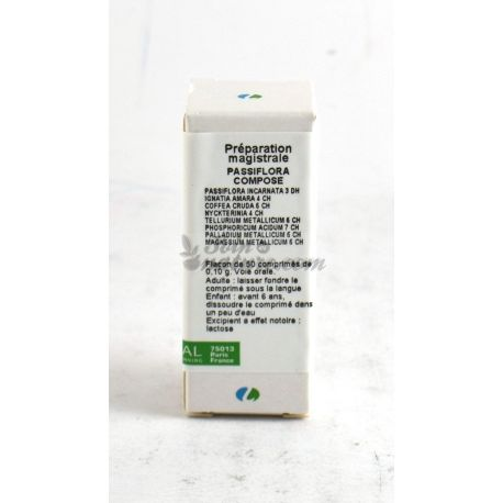 PASSIFLORA PELLET COMPOUND DROPS TABLETS Homeopathy Boiron