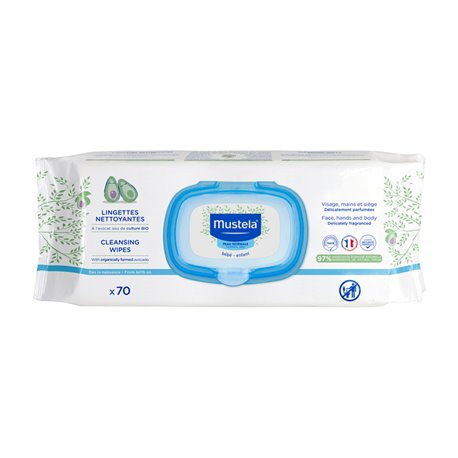 MUSTELA Baby Soothing Dermo Wipes Special Change x70