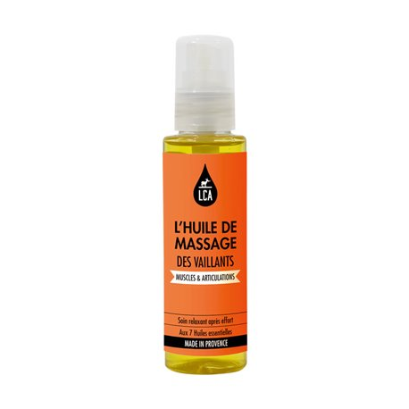 LCA Massage Oil Muscles & Joints