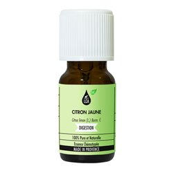 LCA Organic Essential Oil of Lemon Yellow