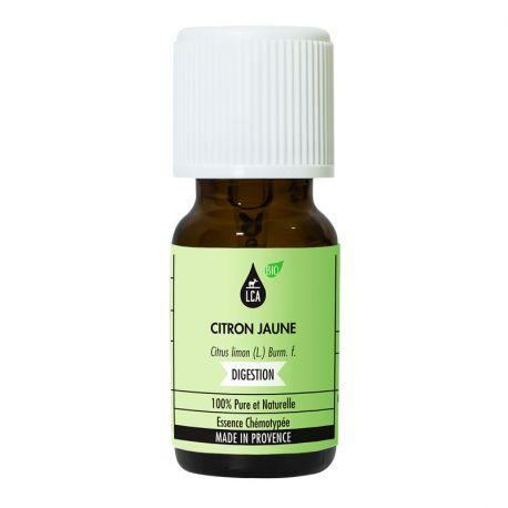 LCA Huile essentielle de Citron jaune bio