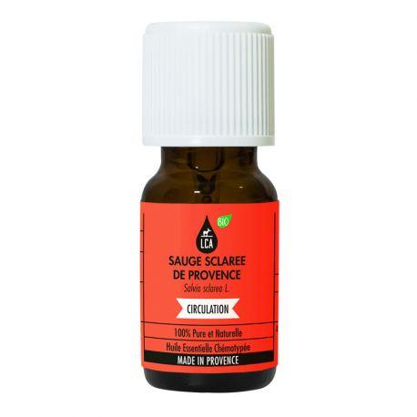 LCA Aceite esencial de salvia Orgánica Provenza