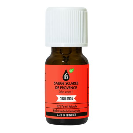 LCA Clary Sage essential oil of Provence organic