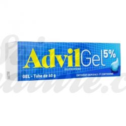 ADVIL 5% analgésica ibuprofeno gel para entorse