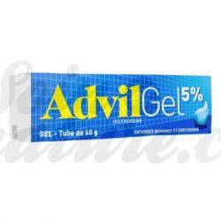 Advil 5% analgèsic gel ibuprofèn per l'esquinç