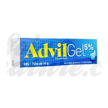 ADVIL 5% analgésico gel ibuprofeno para el esguince
