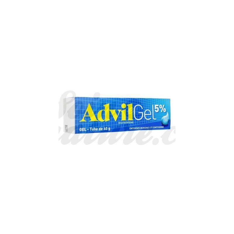 Buy Advil Ibuprofen 5 Antalgic Gel For Sprains In Pharmacy