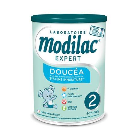 MODILAC EXPERT DOUCEA 2 AGE Lait bébé 800g