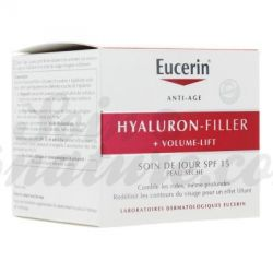 Eucerin Hyaluron Filler Volume Tagespflege Trockene Haut 50ml