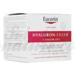 Eucerin Hyaluron Filler Volume diurno per Normali a Miste 50ml Pelle