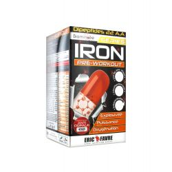 Eric Favre IRON PRE WORKOUT 120 gélules