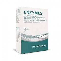 INOVANCE Enzymes digestives Calcium 30 gélules