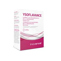 INOVANCE Ysoflavance ménopause Phyto-oetrogènes 60 comprimés