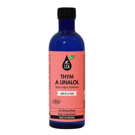 LCA Eau florale de Thym à linalol Bio 200ml