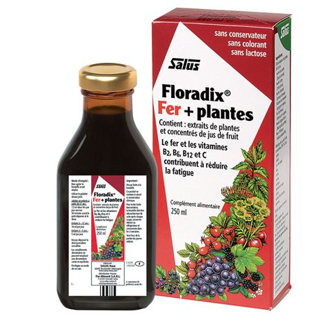 FLORADIX FER + PLANTES Boisson vig énergisante