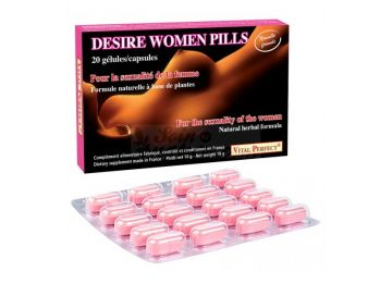 VITAL PERFECT DESIRE WOMEN PILLS Aphrodisiac woman 20 capsules