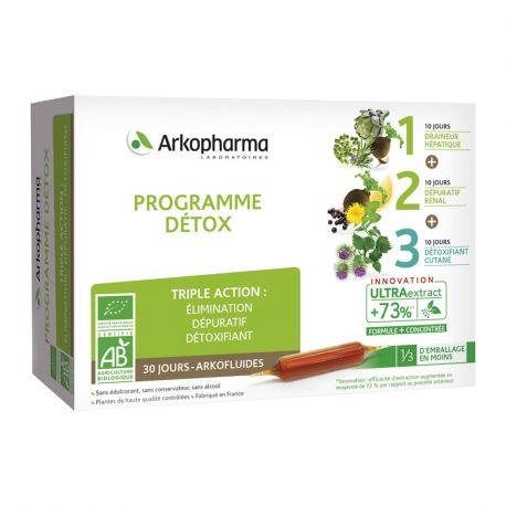 Arkofluide Programme Triple Action Detox Bio
