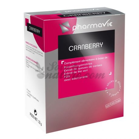 PHARMAVIE CRANBERRY 14 STICKS