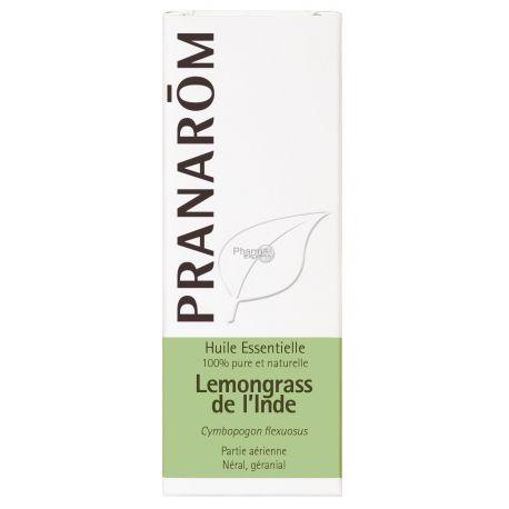 Huile essentielle Lemongrass de l'Inde PRANAROM 10ml