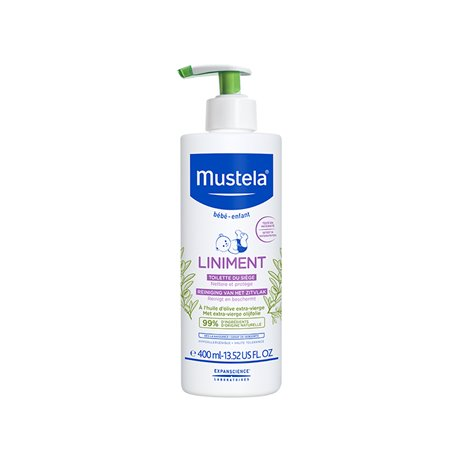 LINIMENT DERMO PROTECTIVE 400ML MUSTELA BABY