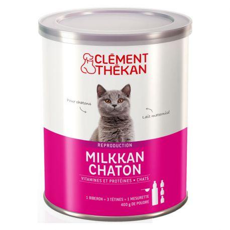 MILKKAN Chaton Lait maternisé 400G Clement-Thekan