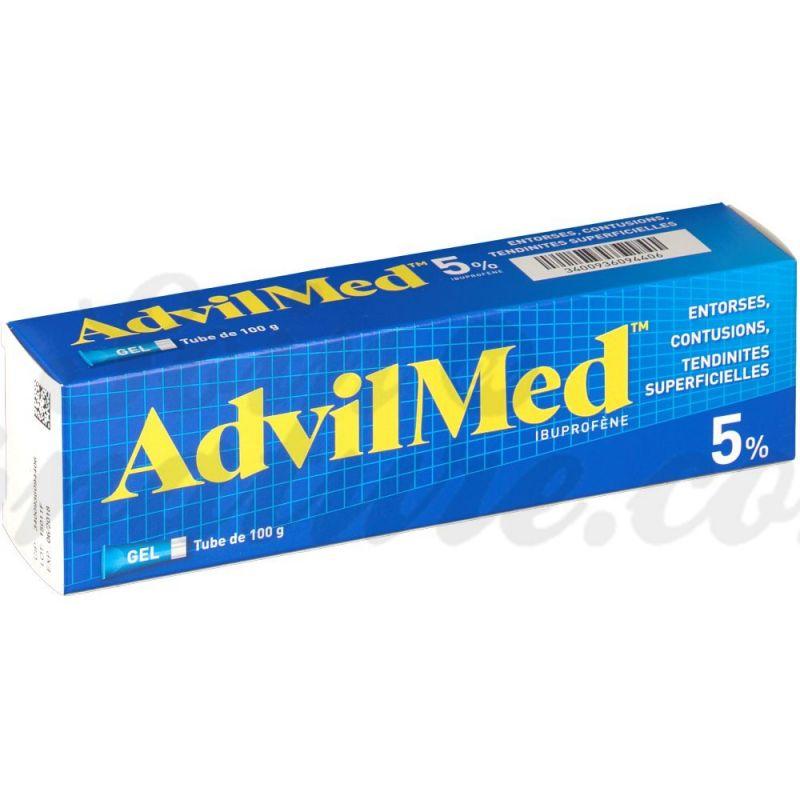 Comprar Advil 5 Analgesico Ibuprofeno Farmacia Esguince Gel