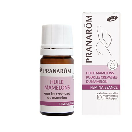 الشقوق PRANARÔM BIO Féminaissance OF 5ML حلمة القاطعة