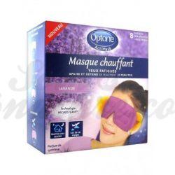 Optone Actimask 8 máscaras olhos cansados Lavender aquecida Scent