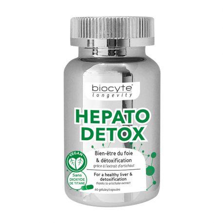 Biocyte Longevity Hepato Detox Draineur Foie 60 gélules