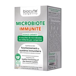 MICROBIOTE Immunity Echinacea BIOCYTE 20 tabletas