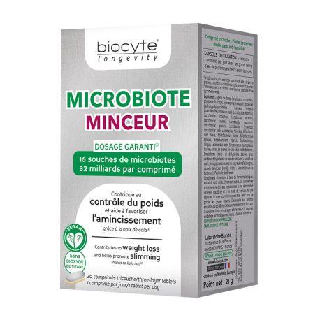 Achetez MICROBIOTE Minceur Probiotiques BIOCYTE 20 ...